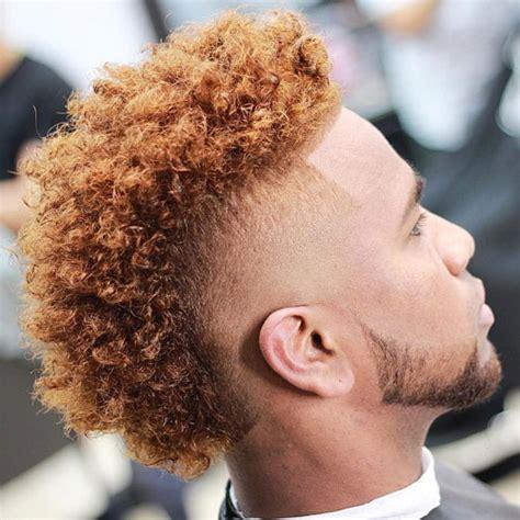 curly mohawk beard the tape up haircut