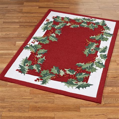 christmas accent rugs christmas rugs 5x7 fishwolfeboro