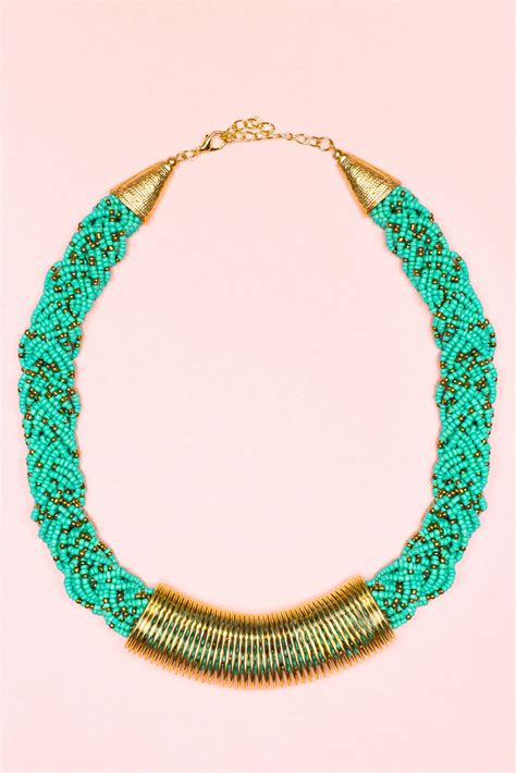 braided seed bead necklace uoionline s