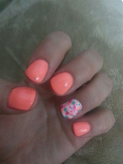 solid color acrylic nails best 25 solid color nails ideas on nails