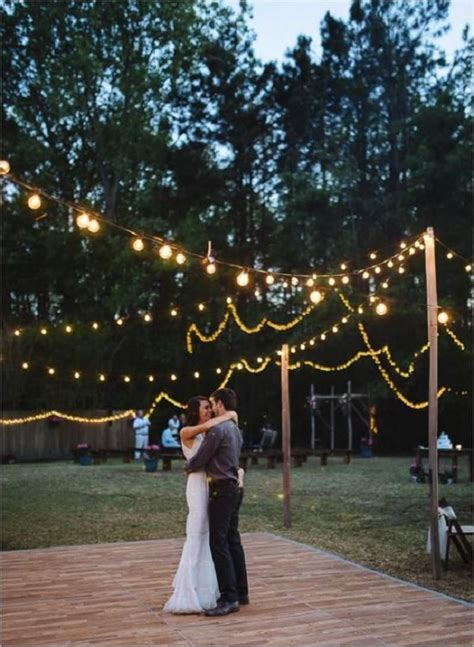 backyard dance floor 25 best ideas about wedding dance floors on pinterest
