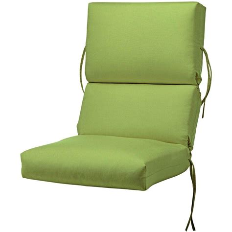 Dining Chair Seat Cushion Sunbrella Jockey Outdoor Dining Chair Cushion 1573310110 The Home Depot