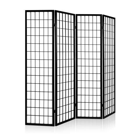 room divider panel room divider 4 panel black
