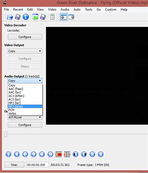 format file to mp3 use avidemux to convert mp4 to mp3 file format