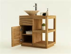 achat vente meuble de salle de bain teck trevise meuble