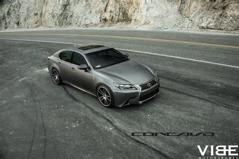 lexus gs350 f sport lowered lowered gs350 f sport on concavo wheels