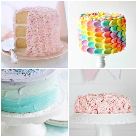 how to decorate a cake at home easy simple cake decoration www imgkid com the image kid