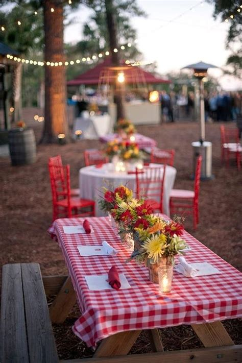Picnic Decorations summer wedding reception theme picnic paperblog
