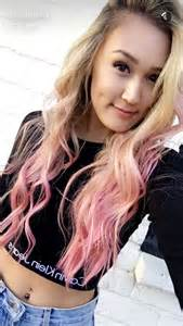 how to dye hair two colors top and bottom m 225 s de 1000 ideas sobre cabello te 241 ido por imersi 243 n en
