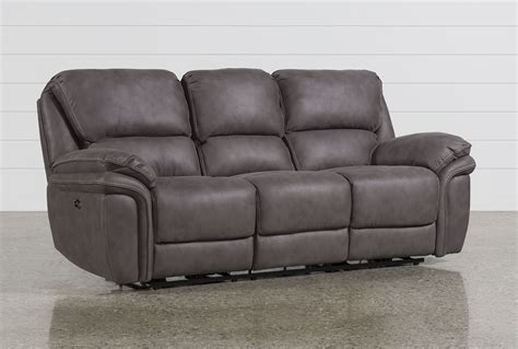 how to place a coffee table with reclining sofa power reclining sofa norfolk grey reclining sofa