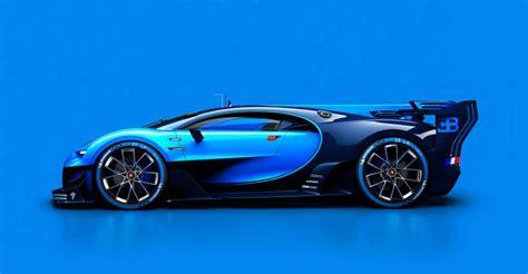 bugatti vision gran turismo vehicle inspires the future of
