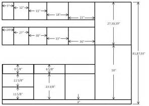 Kitchen Cabinet Door Dimensions Dimension Of European Frameless Cabinets