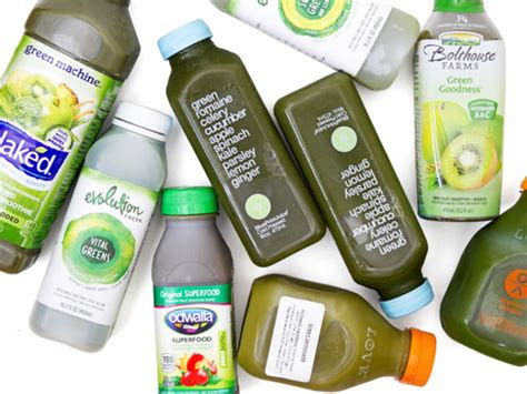 Best Store Bought Juices For Detox Uk by Taste Test We Try 9 Green Juices Serious Eats