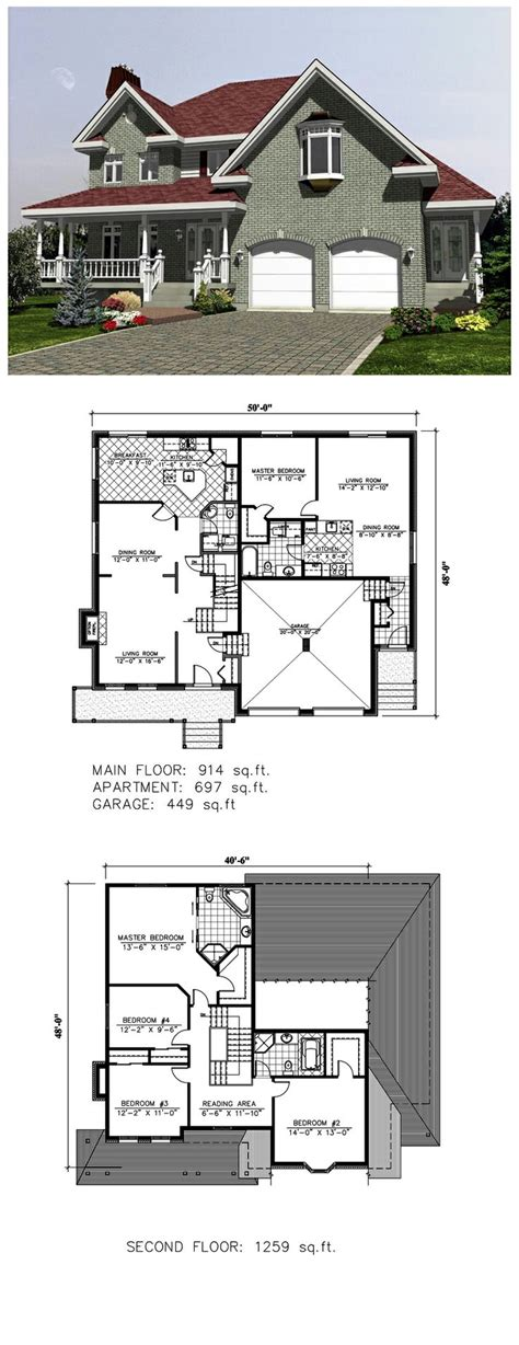 House Plans With Inlaw Apartments by 19 Best Images About Plans With In Apartments On