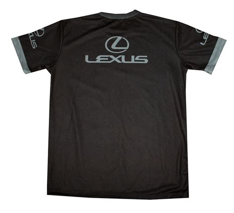 lexus racing logo lexus t shirt with logo and all printed picture t
