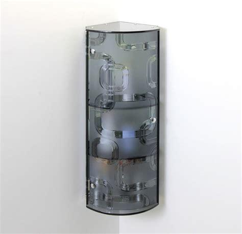 Stylish Bathroom Storage Fab Glass And Mirror Stylish Glass Wall Mounted Bathroom Storage Cabinet Locker Ebay