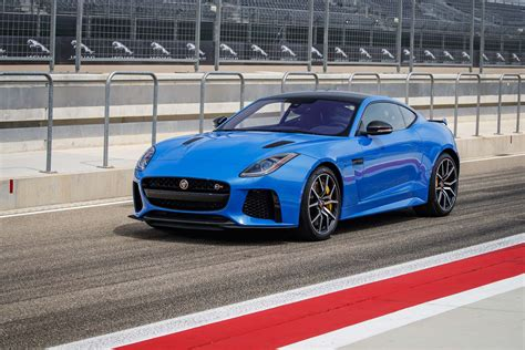 ride along at 174 mph in the 2017 jaguar f type svr coupe
