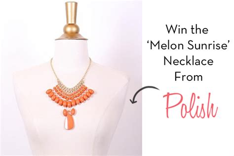 This Weeks Win It Heidis Necklace by Win A Necklace From Boutique Kendi Everyday