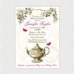 tea invitations invitations ideas