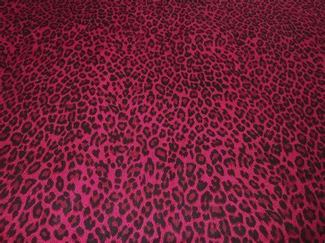 leopard print fabric red raspberry pink red cheetah animal print cotton fabric