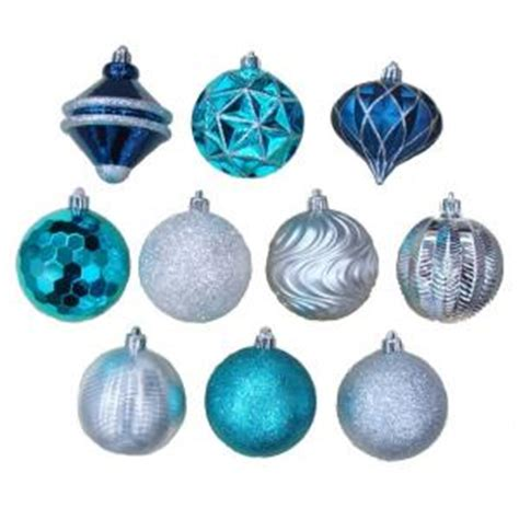 martha stewart white christmas ornaments martha stewart living 3 in ornaments with pattern 75 pack tss 21019c