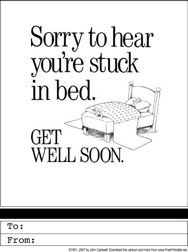 printable card get well soon 4 best images of get well cards printable free printable