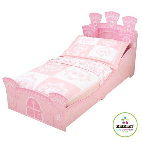 princess castle toddler bed kidkraft princess castle junior toddler bed new bedroom ebay