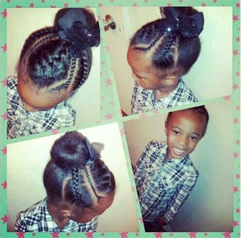 itching african bun hairstyles 487 best images about cute kids on pinterest black women