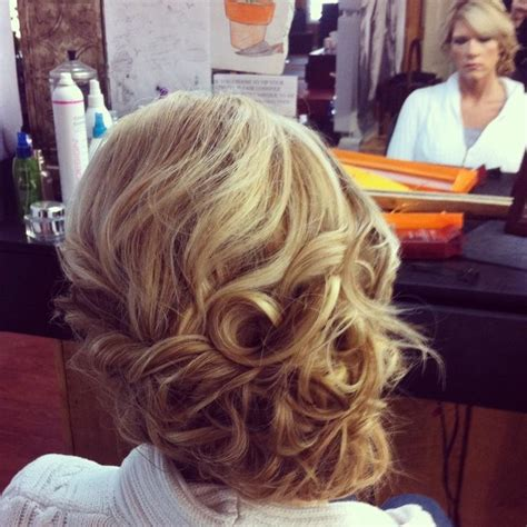 side curls hairstyles how to curly side swept updo hairstyles how to
