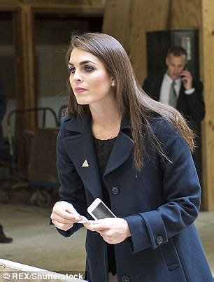 hope hicks lewandowski senior donald trump aides argue on a new york street about