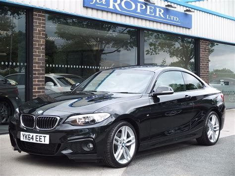 bmw 2 series m sport coupe second bmw 2 series 220d m sport coupe auto pro