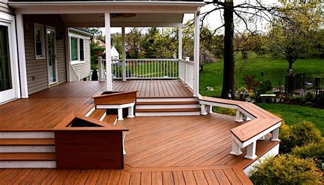 backyard deck photos hunterdon decks deck builders hunterdon county nj