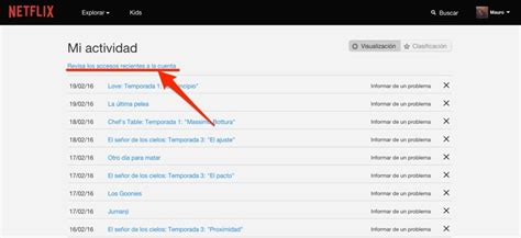 tutorial como actualizar cambiar tu cartelera de netflix 191 c 243 mo saber si utilizan tu cuenta netflix sin autorizaci 243 n