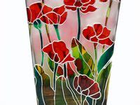 Stained Glass Vase Patterns by 17 Best Images About Stained Glass Idea On
