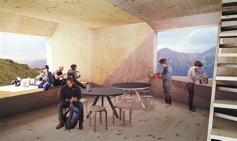 map conceives trekking cabin to adapt to different terrains
