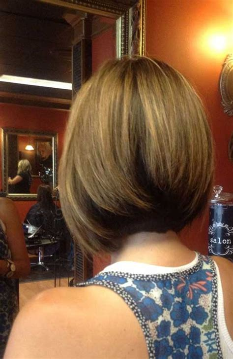 2016 pretty inverted bob hairstyles 15 back view of inverted bob bob hairstyles 2017 short