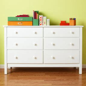 Dresser For Kid by Dressers 6 Drawer Painted White Simple Dresser