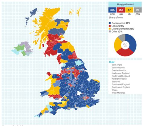 map uk election results map catalog gis 3015 nominal choropleth map uk election