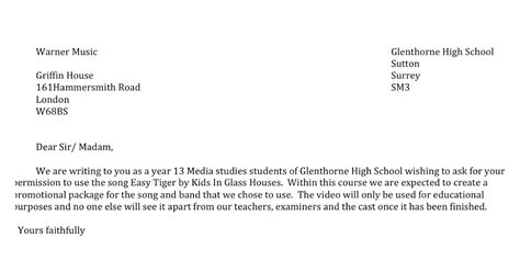 Permission To Shoot Letter Qld Shelby Norman P18 Track Permission Letter