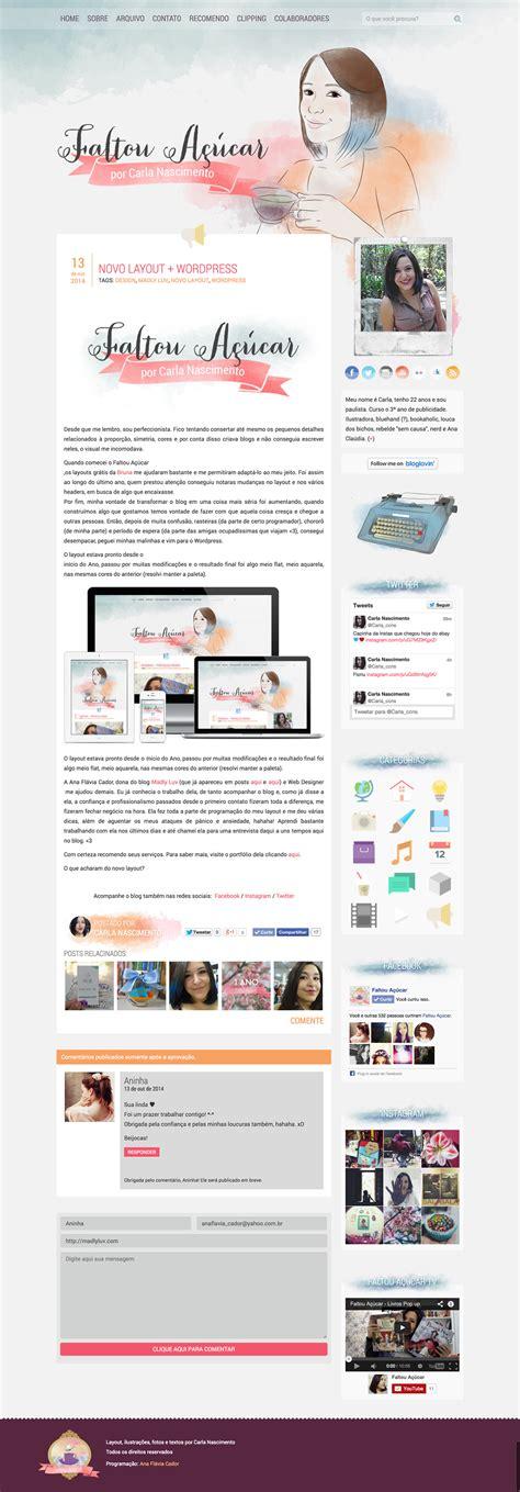 layout responsivo wordpress faltou a 231 ucar psd to wordpress responsive on behance