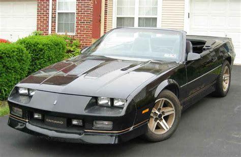 1992 camaro iroc z 1982 1992 chevrolet camaro