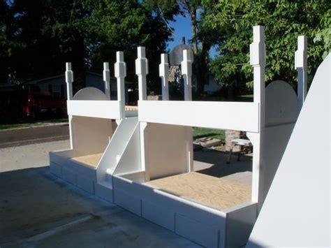 buy handmade queen  twin quad bunk bed  step