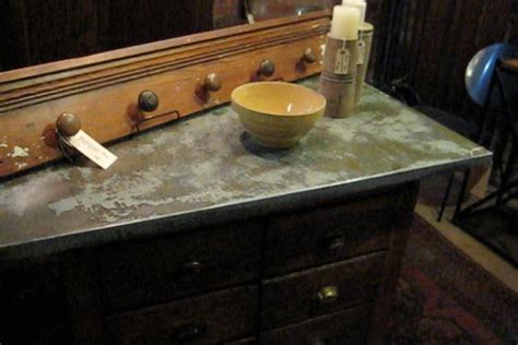 acid etched galvanized steel counter tops can t wait to