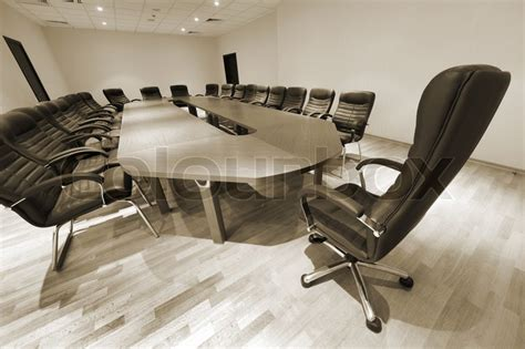 modern conference table and chairs a large table and chairs in a modern conference room