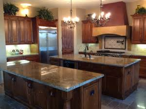 custom double island kitchen designs kitchens