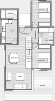 Planos De Casas En 3d Planos 3d Casa 3 Dormitorios Vivienda Moderna Planos De