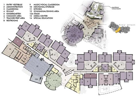 elementary school floor plan trailside elementary school designshare projects