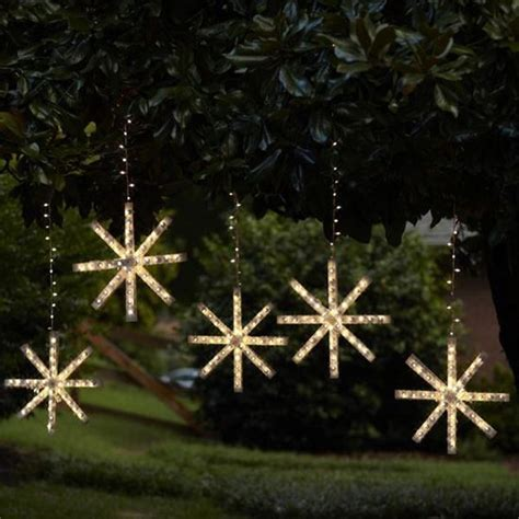 snowflake outdoor christmas lights 15 best cing csite holiday decorating images on
