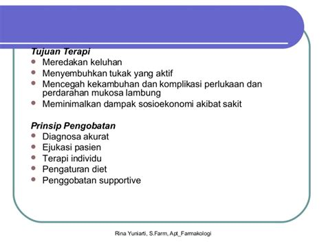 Obat Asam Lambung Farmakologi farmakologi obat saluran pencernaan