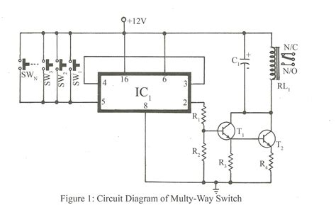 multi switch lighting circuit k grayengineeringeducation